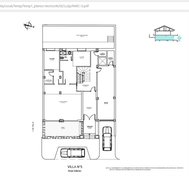 Källarplan Källarplan/garage (Exempel på planlösning) Villa #5. Alla planlösningar finns tillgängliga, kontakta gärna oss vid intresse.