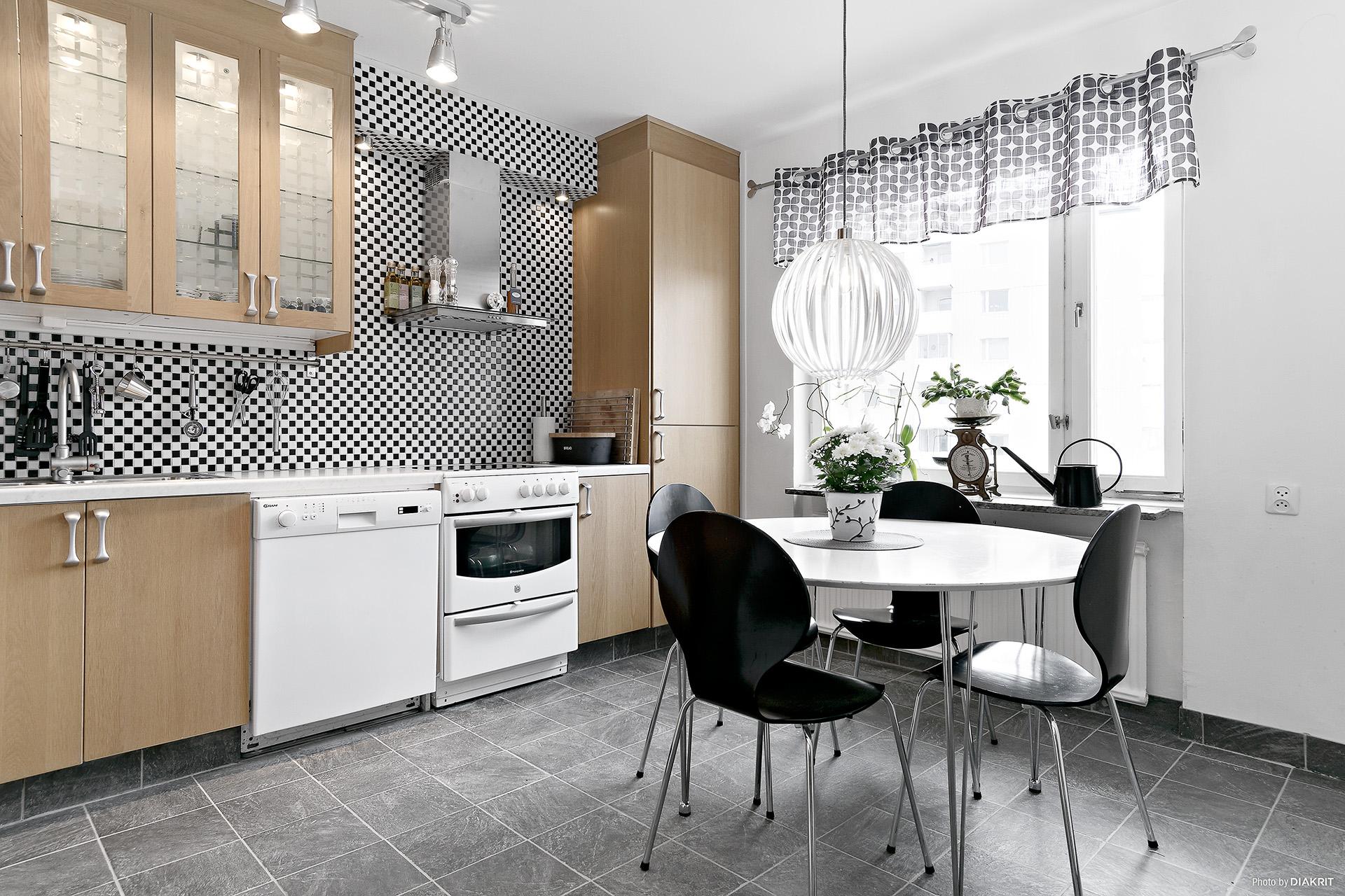 Kök och matplats