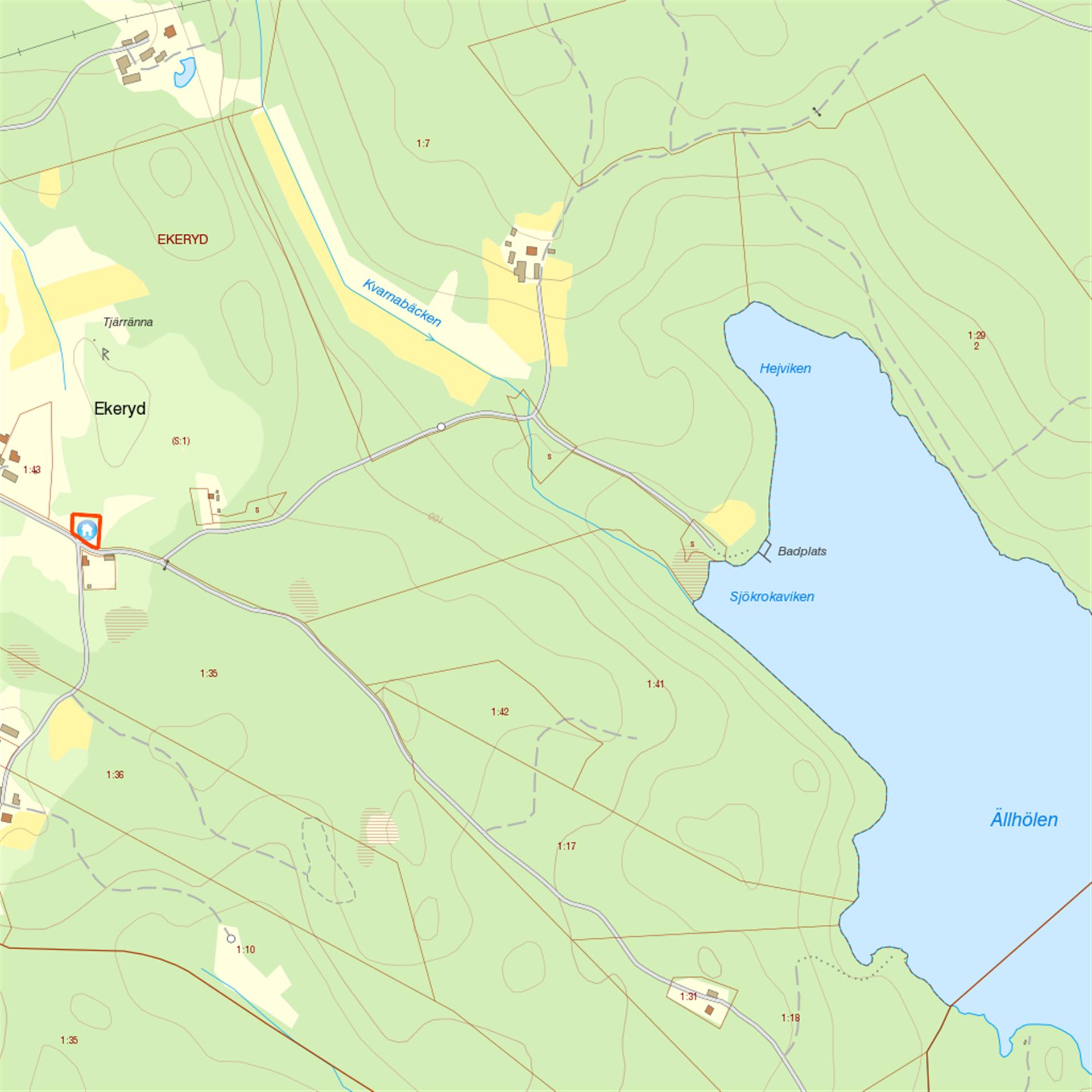 Karta över området!