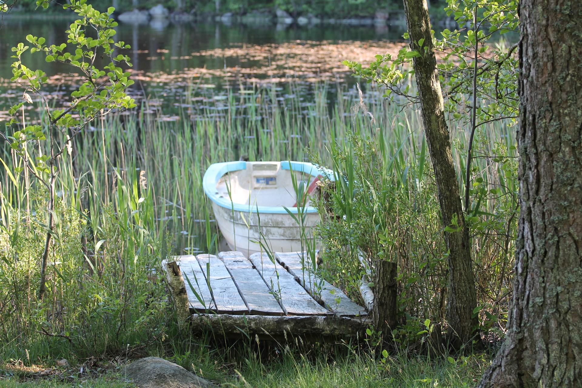 Möjlighet till båtplats.båt ingår.