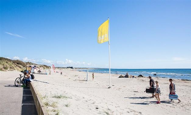 Skrea Strand Foto: Destination Falkenberg