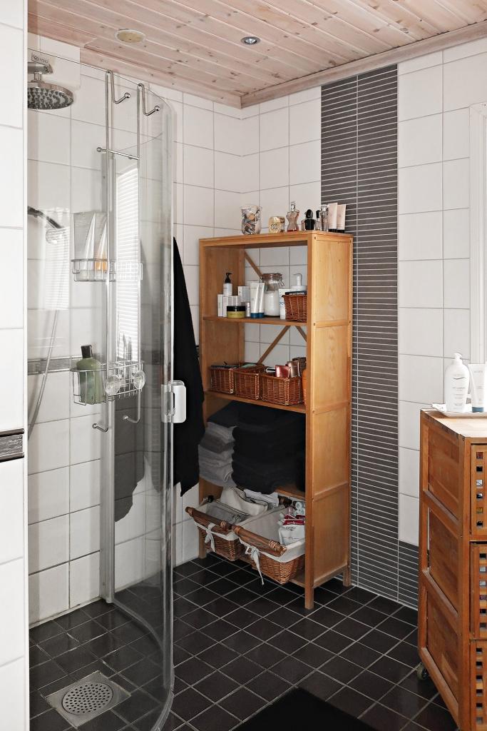 Duschplats i badrum