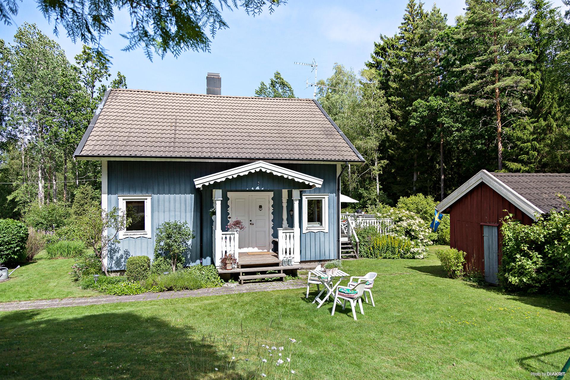 Huset och trädgården
