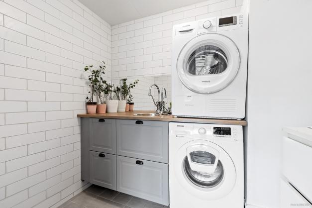 Helkaklad och fräsch tvättstuga