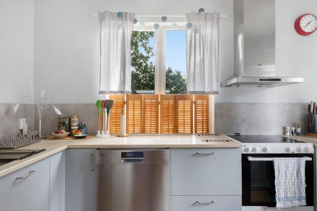 Modernt och praktiskt kök