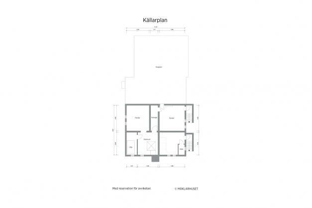 Huvudbyggnad källare