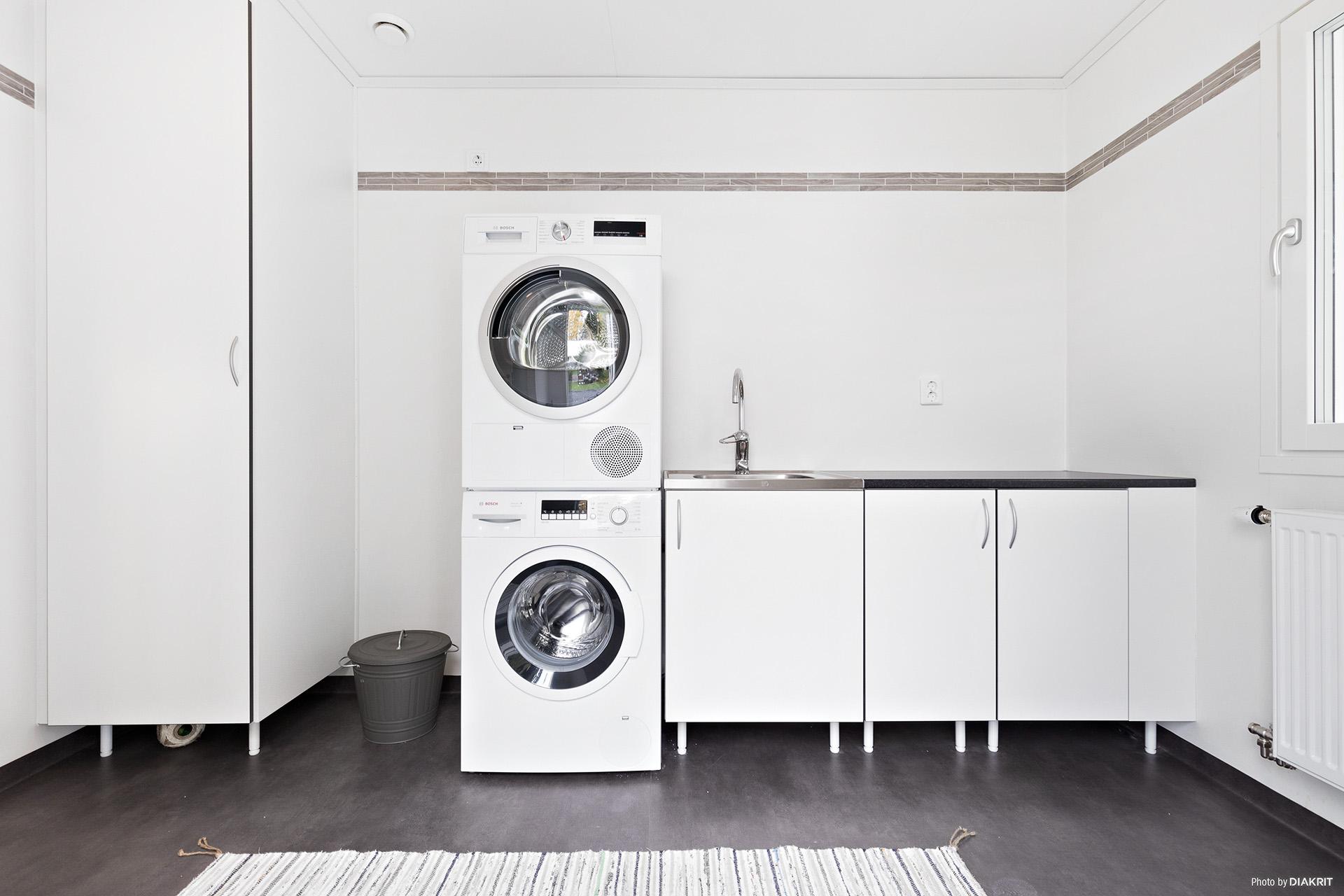 Groventré/Tvättstuga