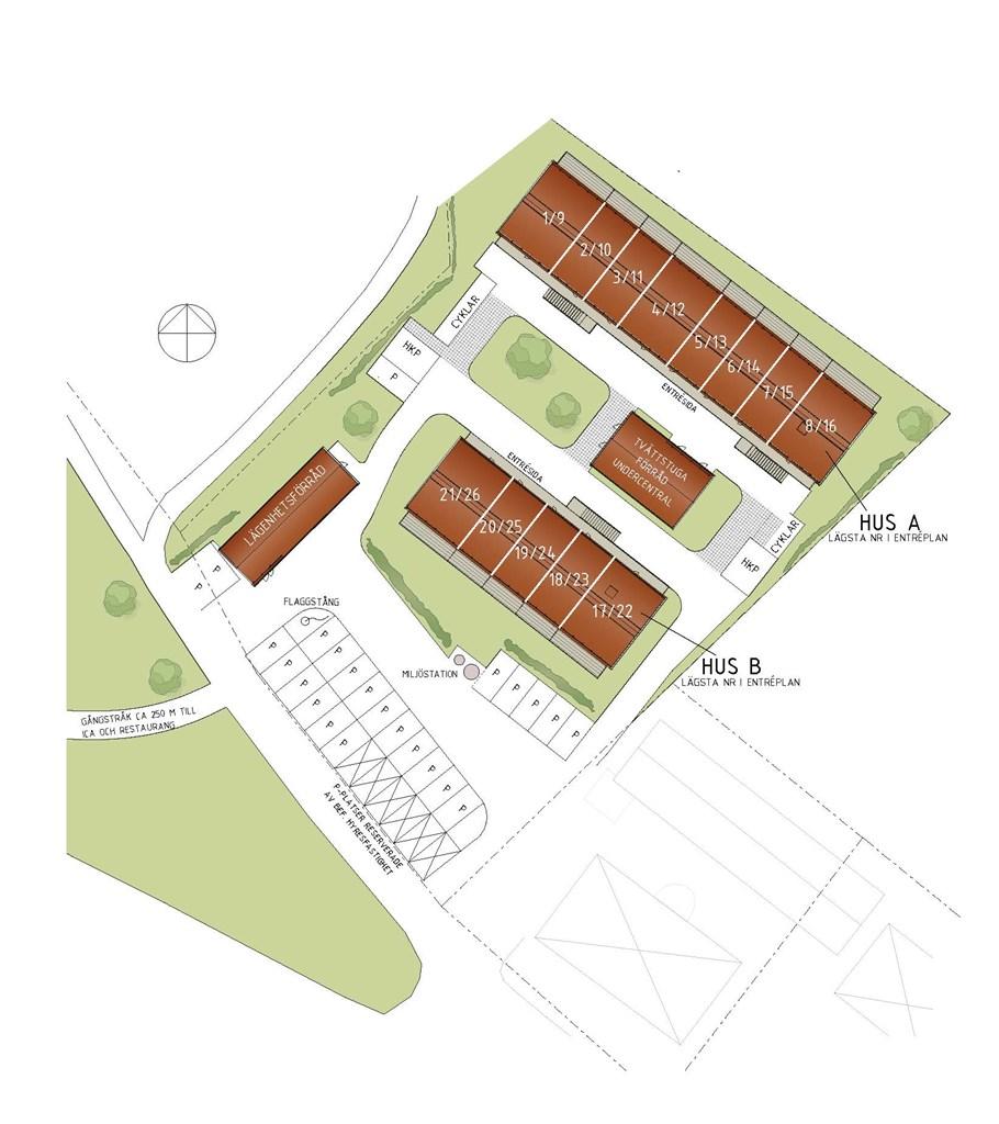 Illustration över området