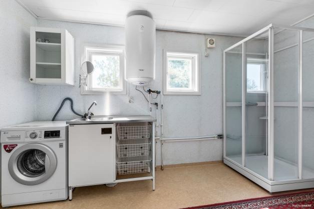 Dusch och tvättrum
