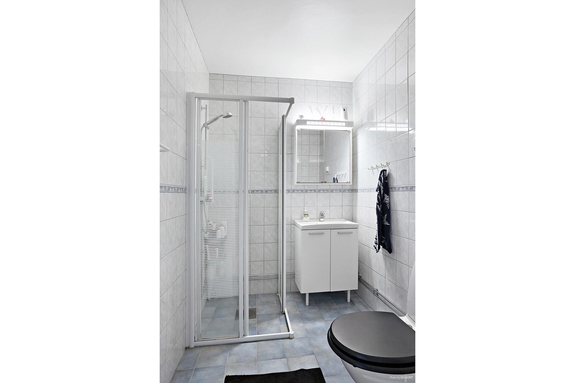 Stambytt och renoverat duschrum (2003)