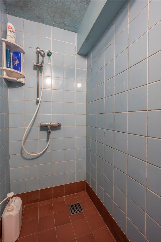 Dusch i källare