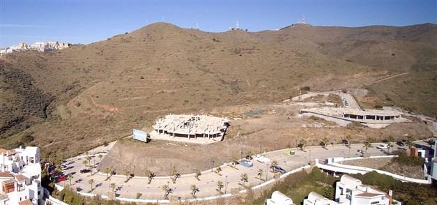 Tomten där området Isea Calaceite ska byggas