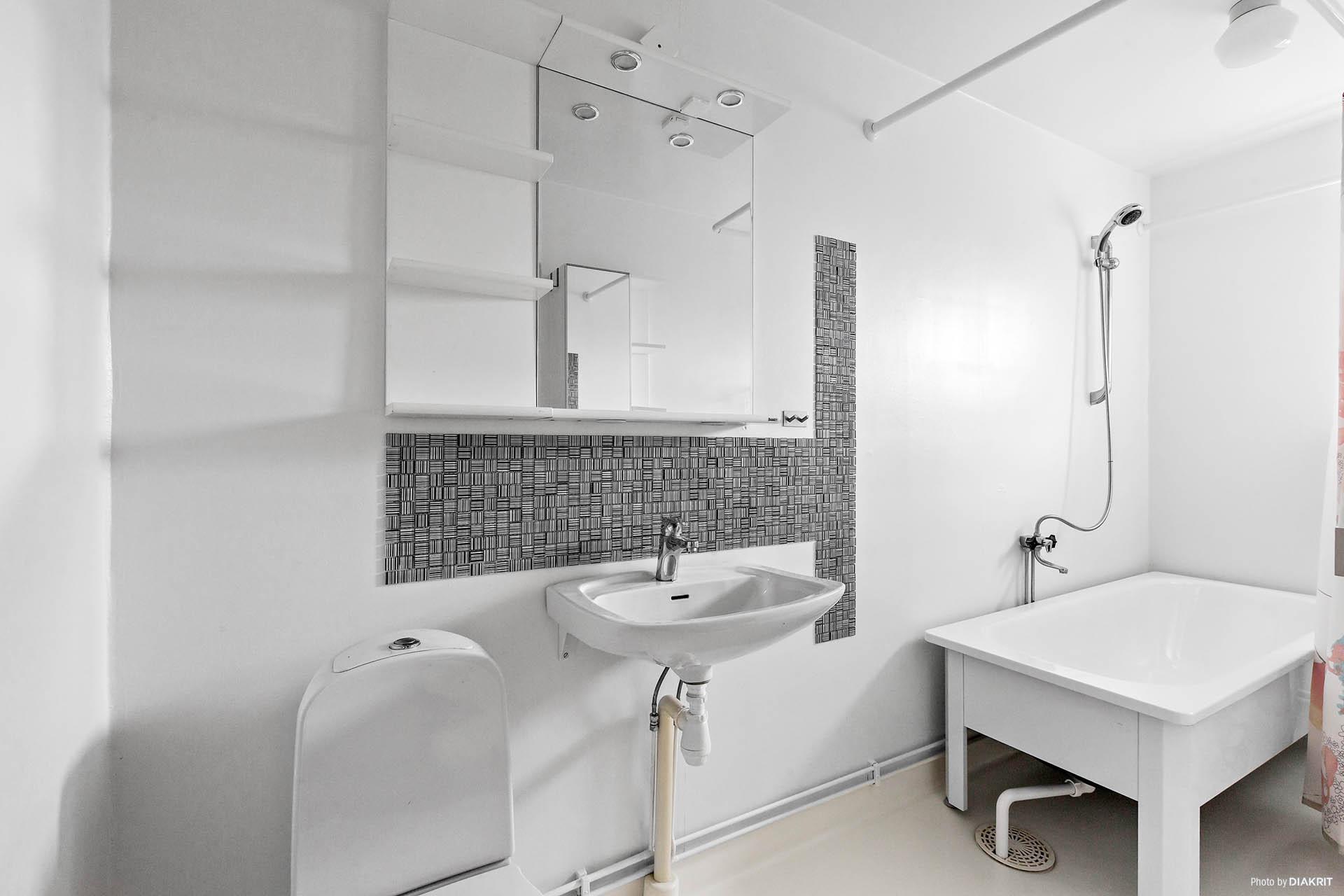 Övre plan - badrum