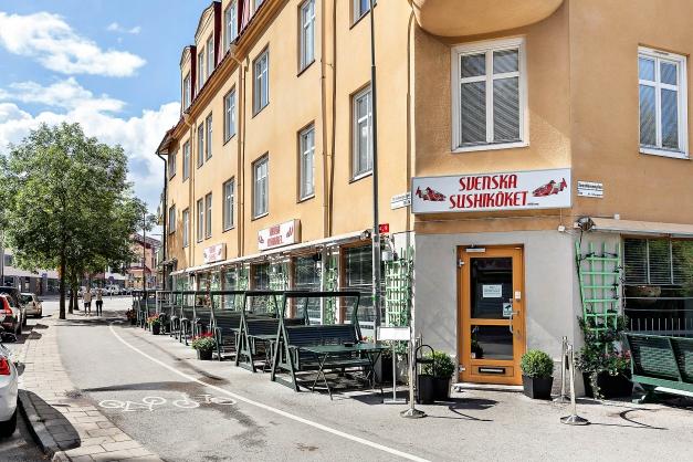Svenska Sushiköket är en av flera populära restauranger