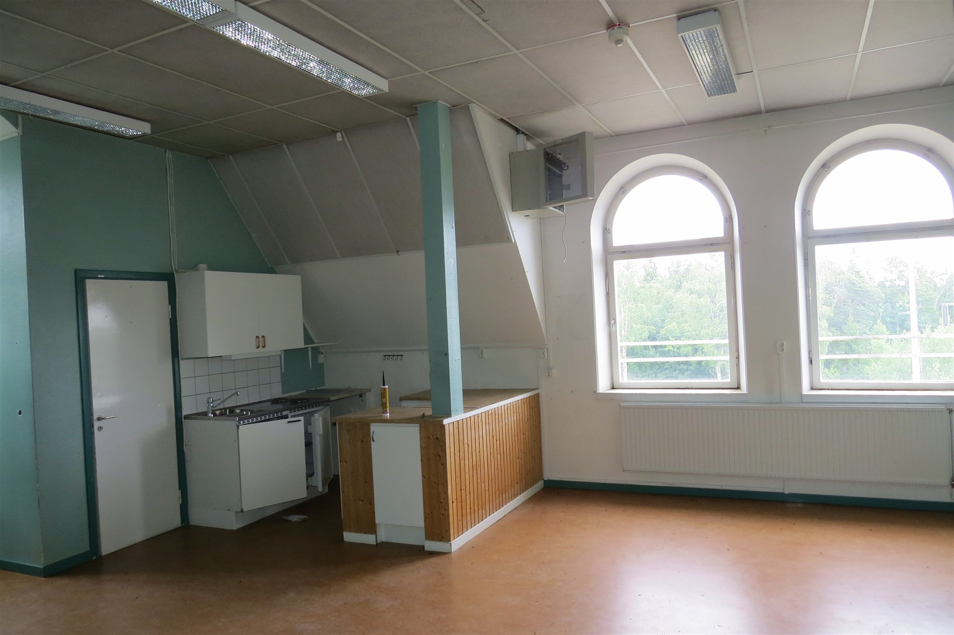 Klassrum/kontor med trinett