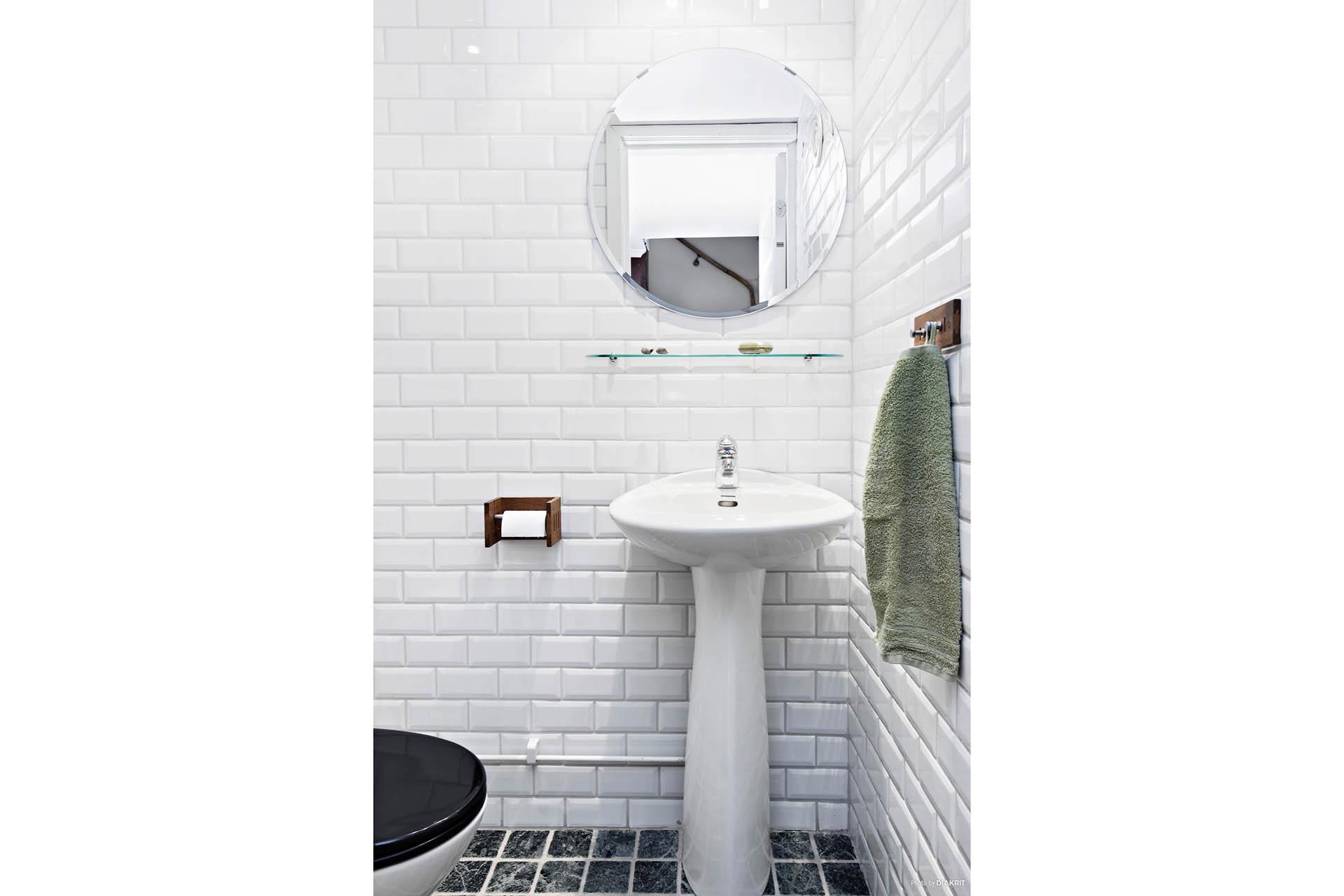 WC nedre plan