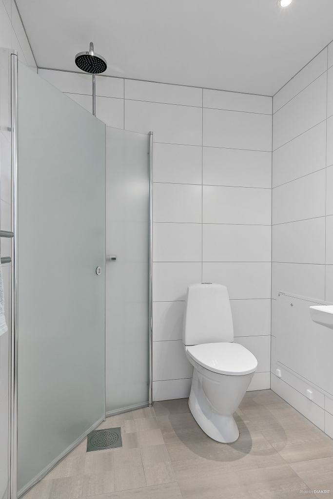 Gäst-wc med dusch