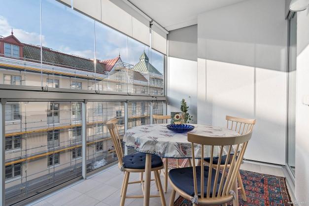 Inglasad balkong om 10 kvm