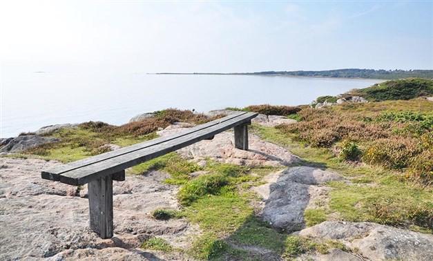 Kusten i Vessluna. Foto: Destination Falkenberg