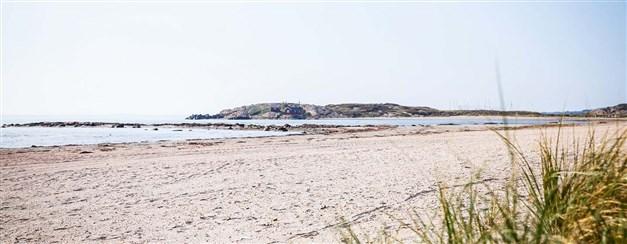 Långasands strand. Foto: Destination Falkenberg