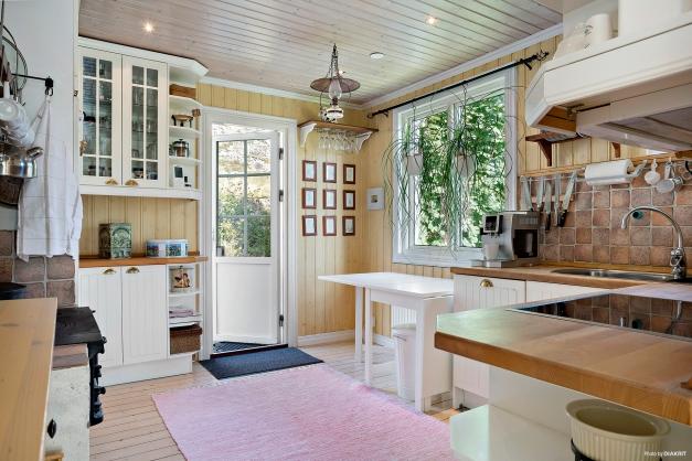 Kök med rustik stil från IKEA