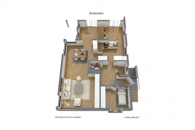 Planritning bottenvåning