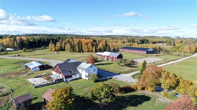 Välkomna till Vattlång 103 och 104 - hästgård med stall, ridhus och ridbana!