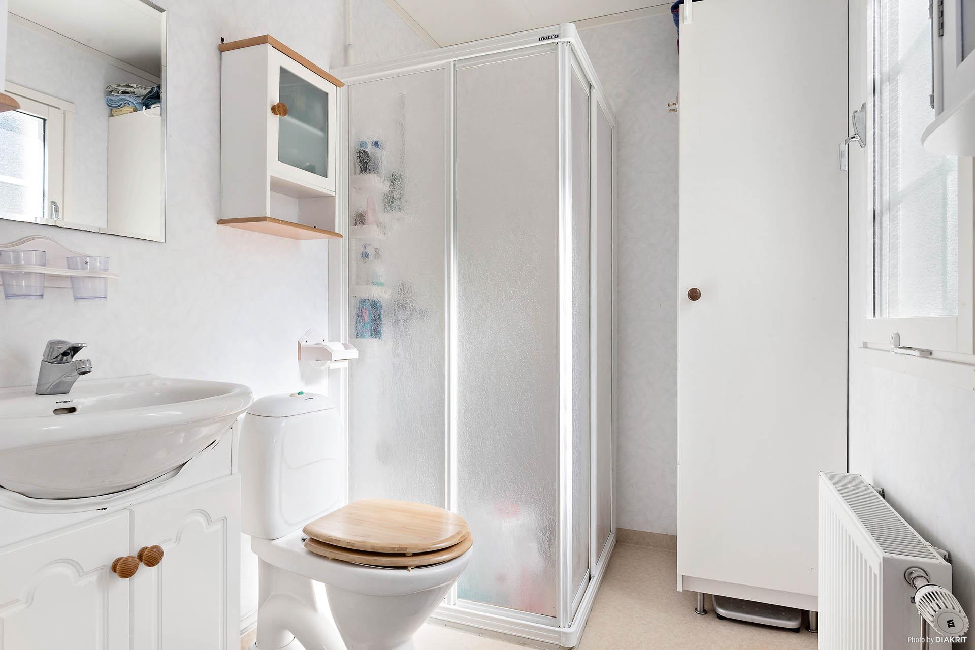 Badrummet vid ingången