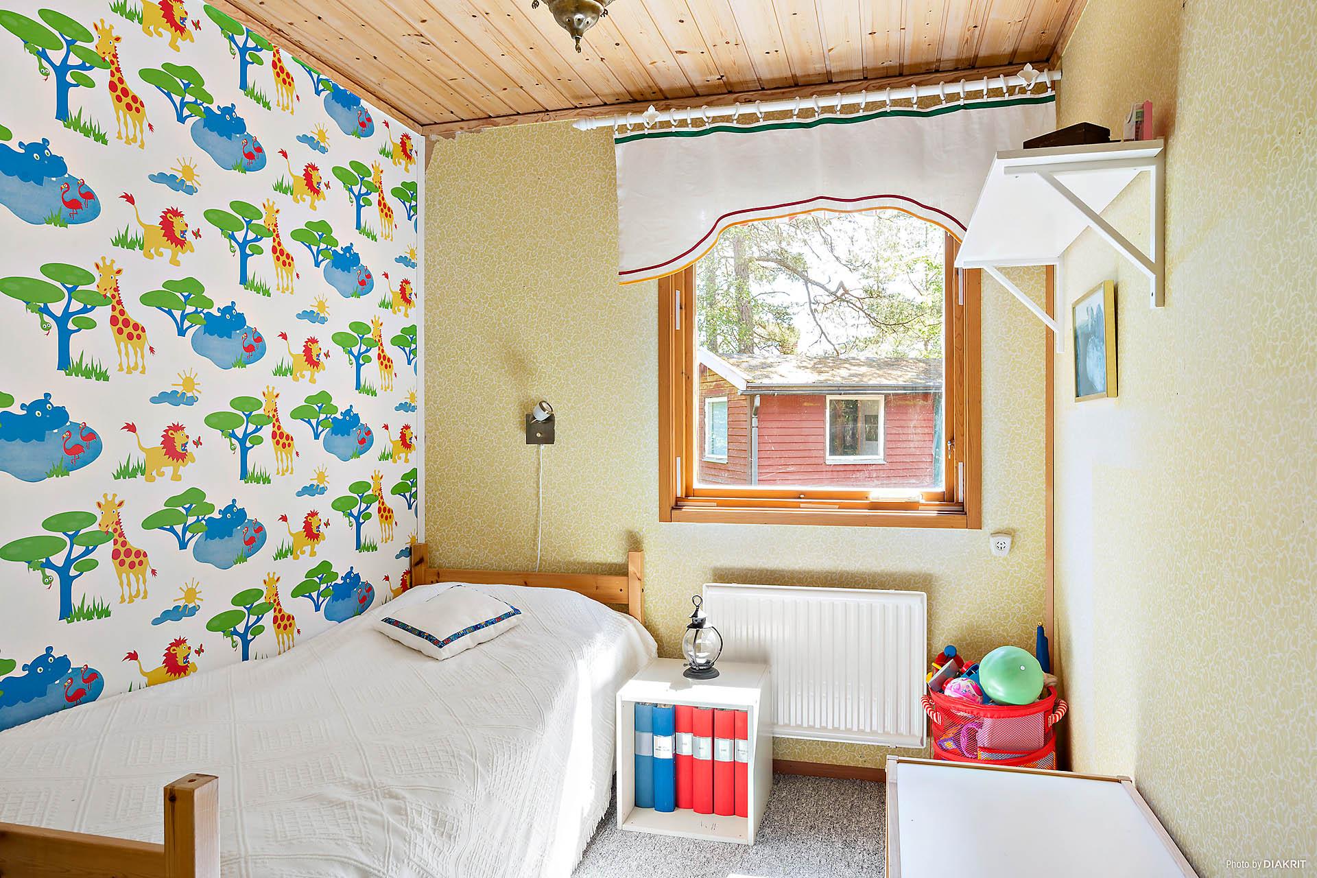 Lilla sovrummet, perfekt som barnrum