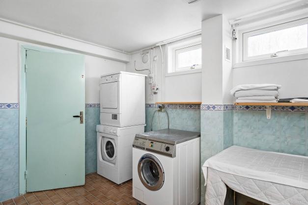 Tvättstuga, källarplan