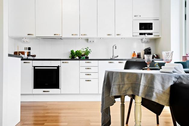 Stilsäkert modernt kök från Marbodal.