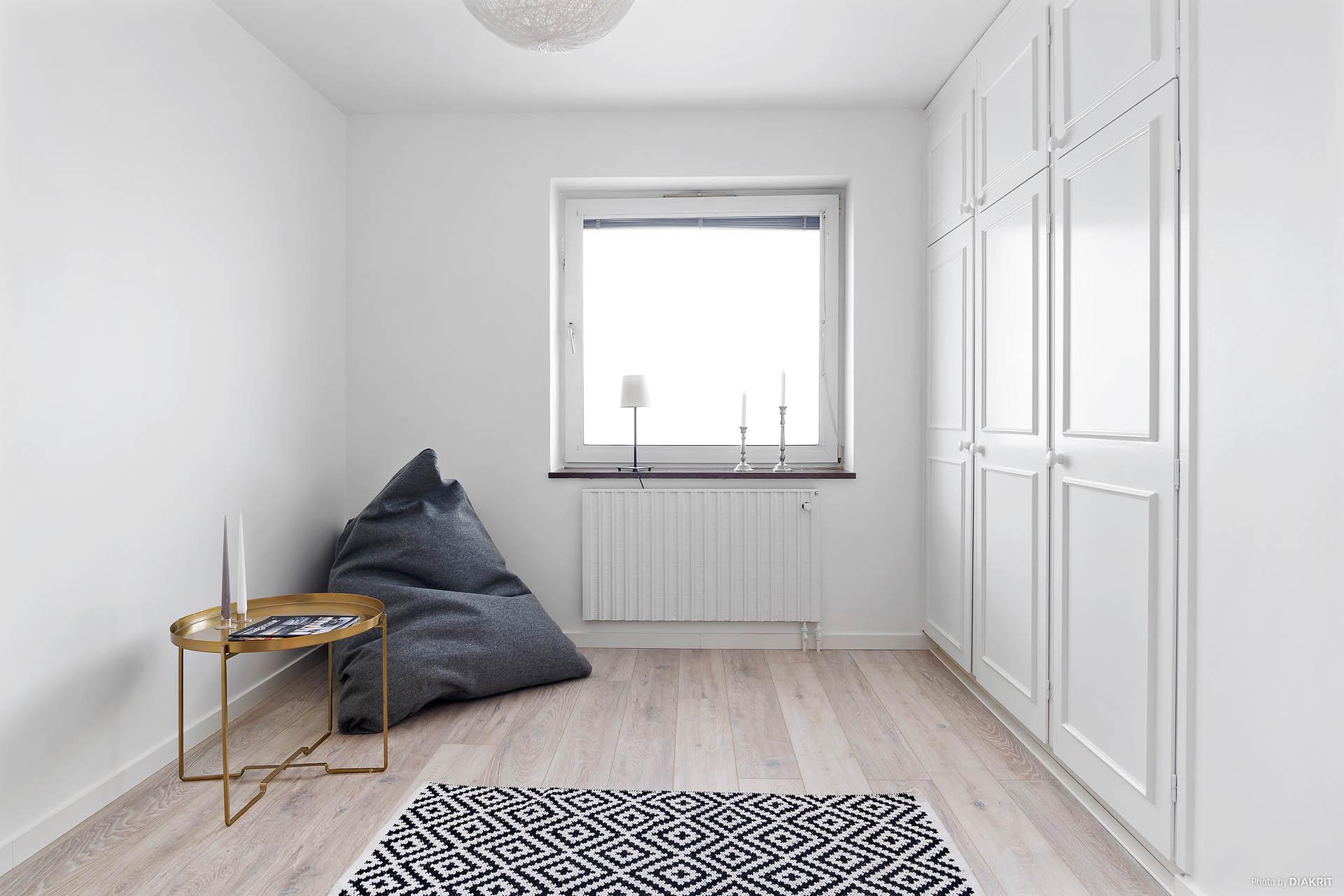 Sovrummet med förvaring