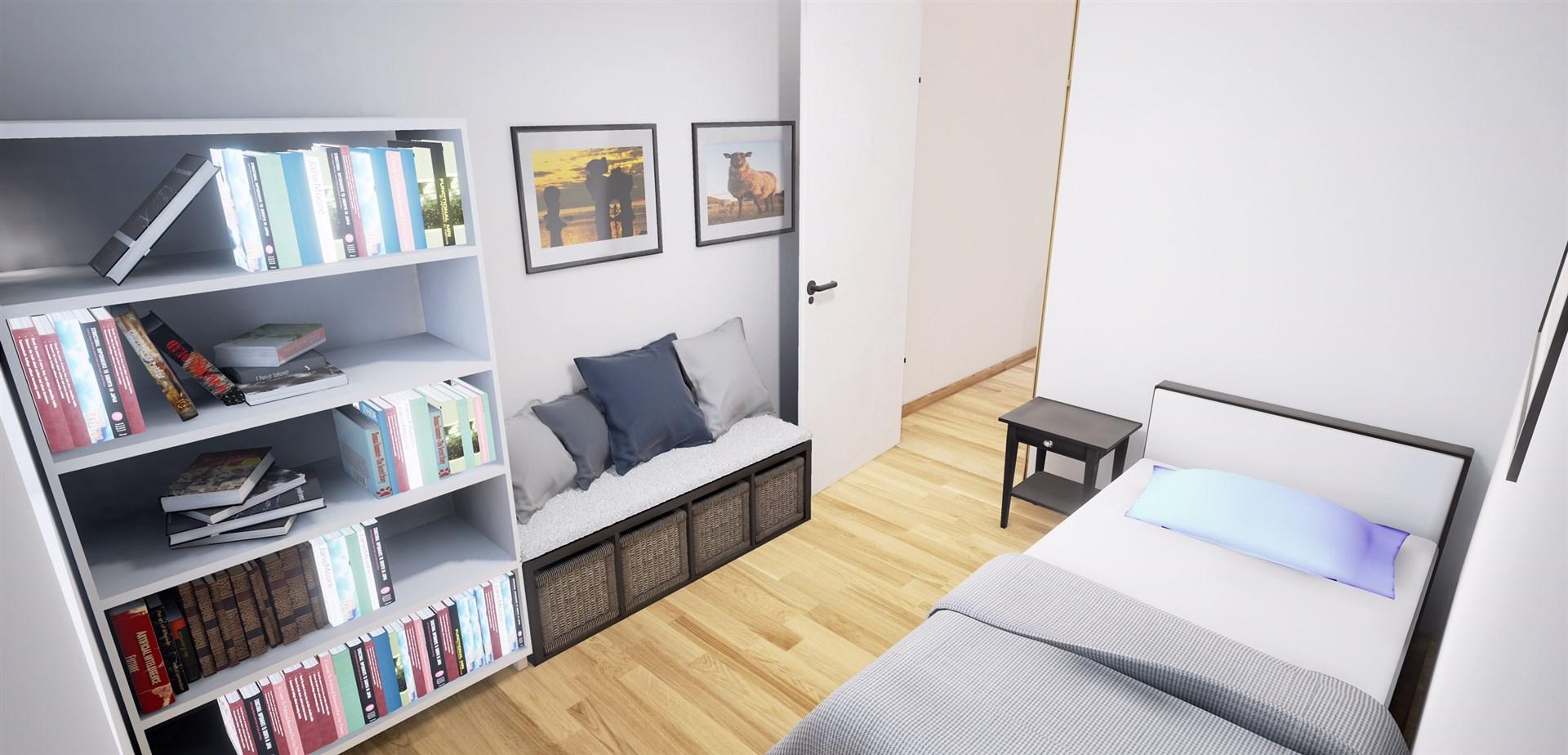 Sovrum 3 på övervåningen