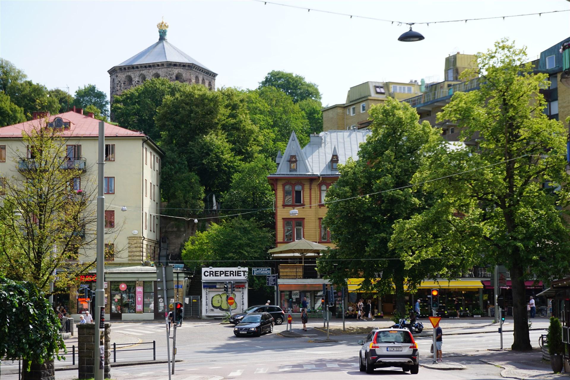 Närhet till Linnégatans restaurang och café utbud