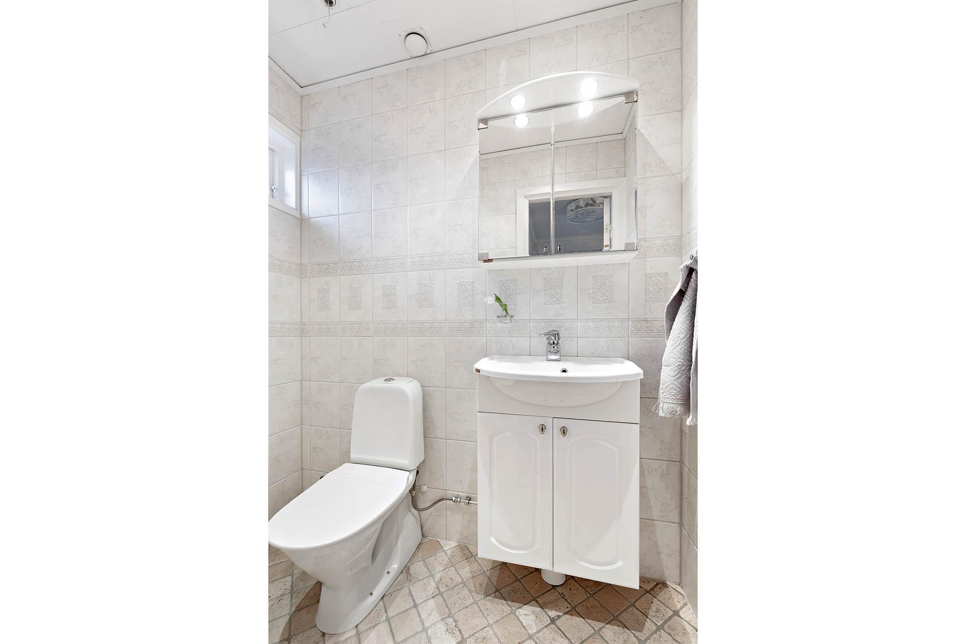 Gäst WC entréplan