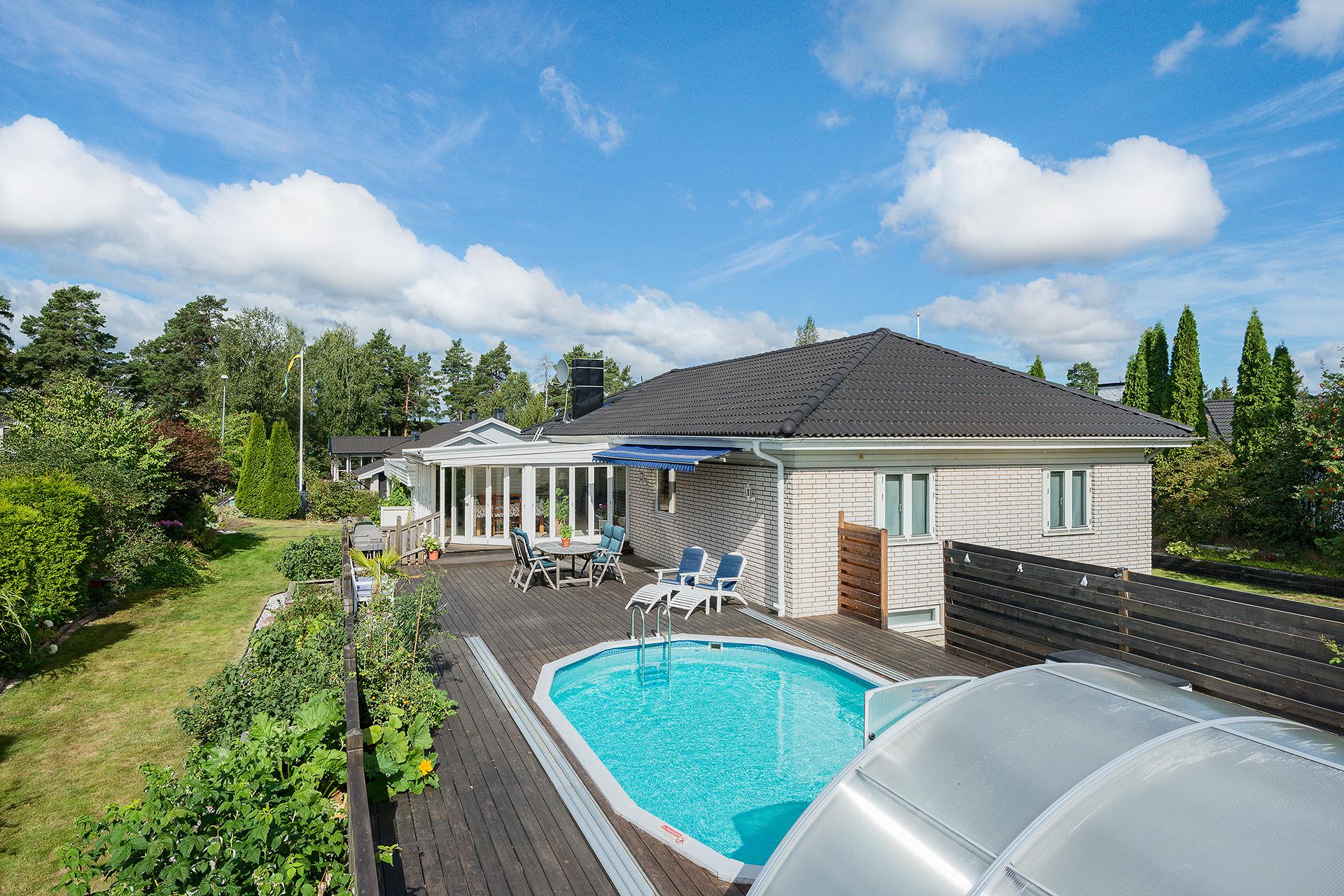 Trevlig villa med pool