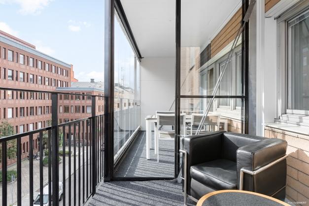 Öppen balkong