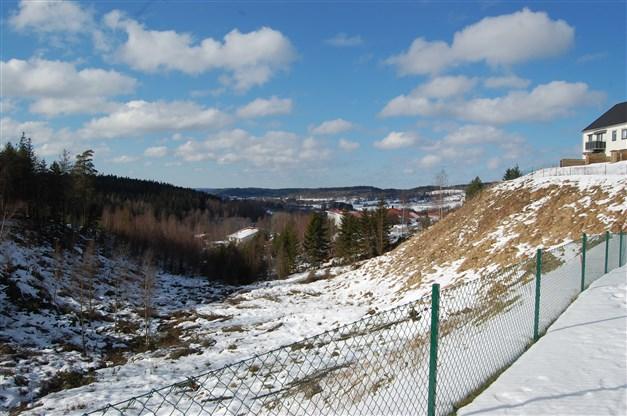 Utsiktsbild från området