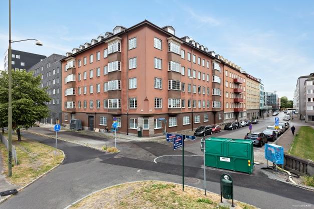 Hörnet Konduktörsgatan - Fredriksbergsgatan