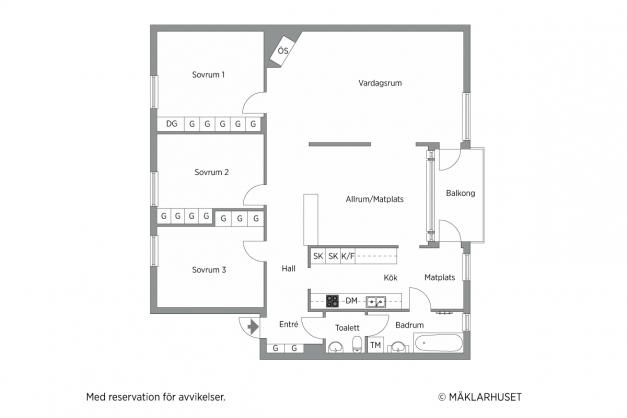 PLANLÖSNING - Frejagatan 7 A