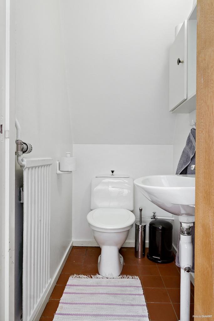 Toalett markplan