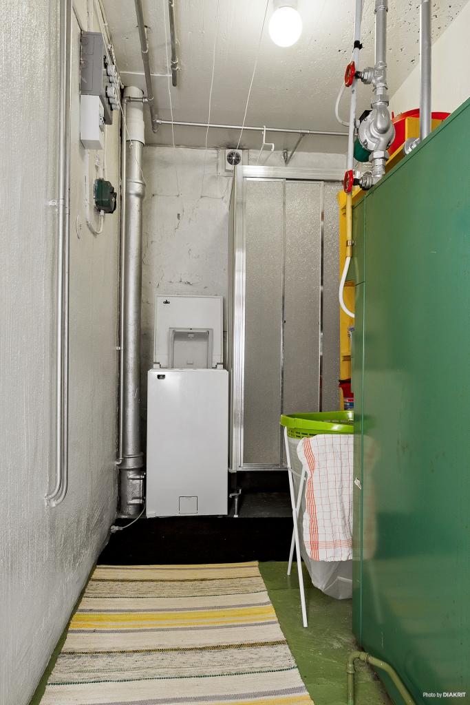 Pannrum och tvättrum