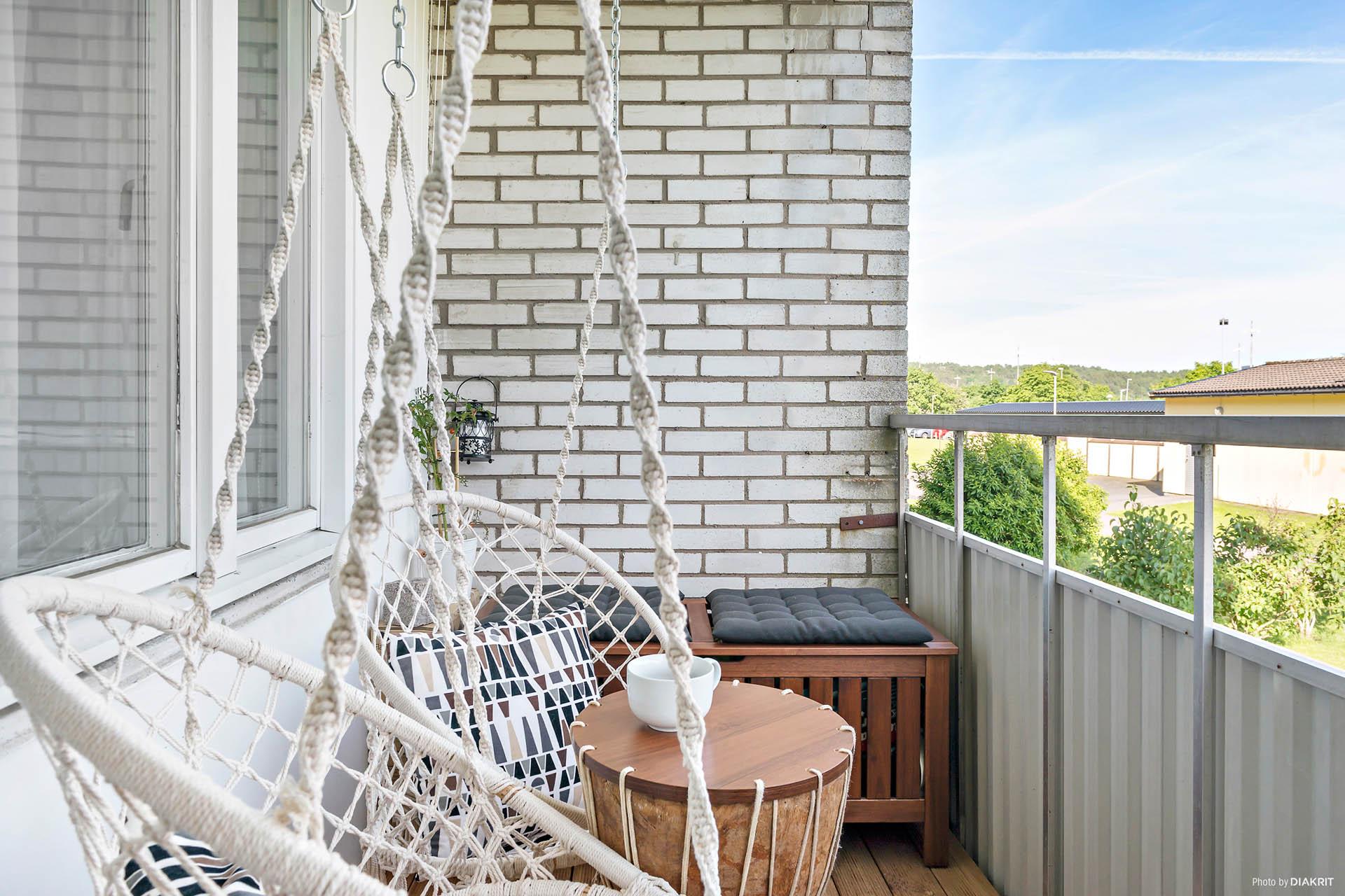 Smakfullt renoverad tvåa med balkong!