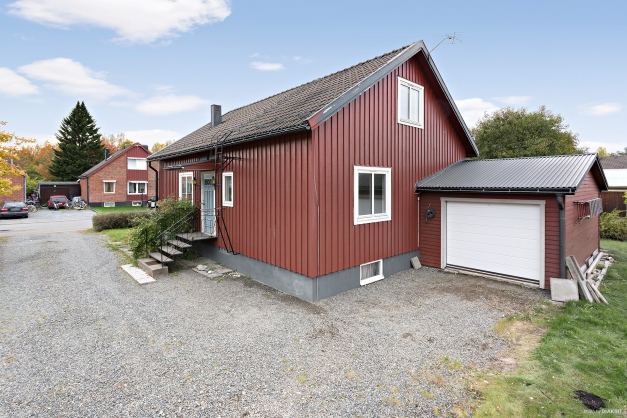Fasad, garage