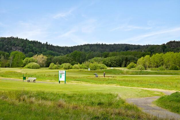 Golfbanan i närområdet