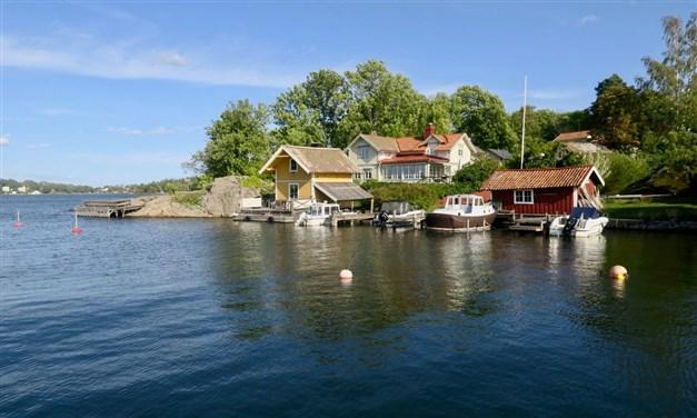 Vackra Norrhamnen endast ett stenkast från bostaden