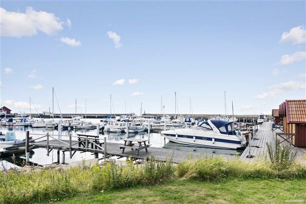 Glommens hamn. Foto: Destination Falkenberg