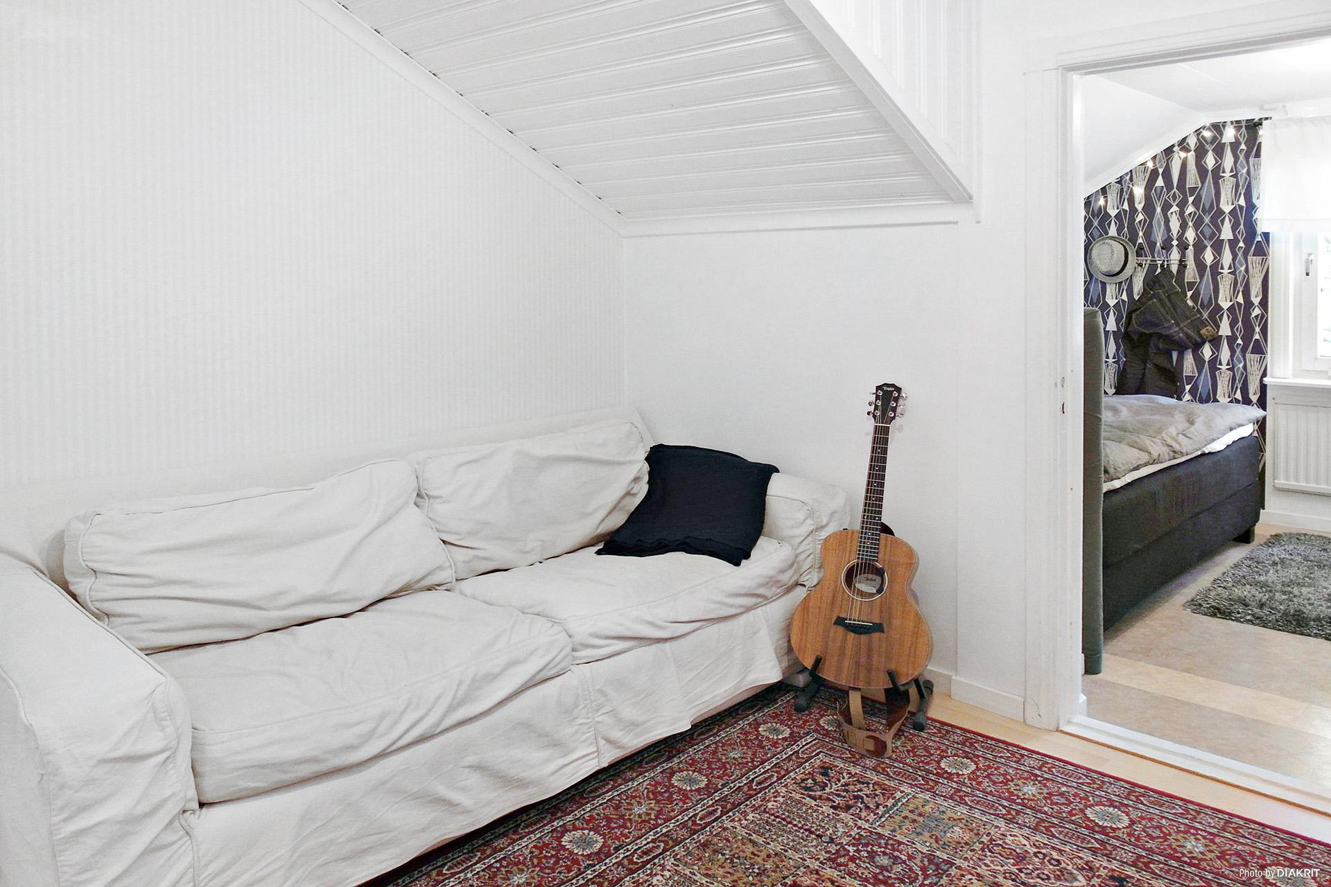 Rum utanför sovrum 2 på övervåningen.