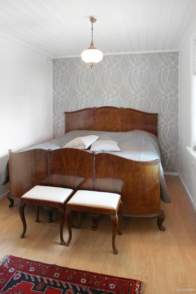 Sovrum 1 på entréplan.