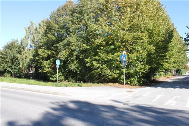 Fastigheten från Stenkumlaväg